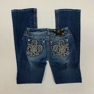 Miss Me Jeans Womens Size 27 Boot Inseam 32